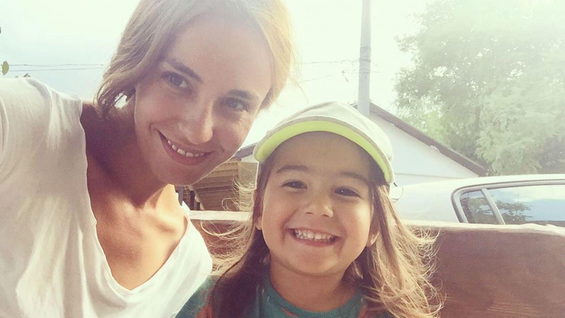 Радина Кърджилова с мила снимка в Деня на християнското семейство