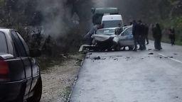 Всички загинали при катастрофата край Силистра са били с колани