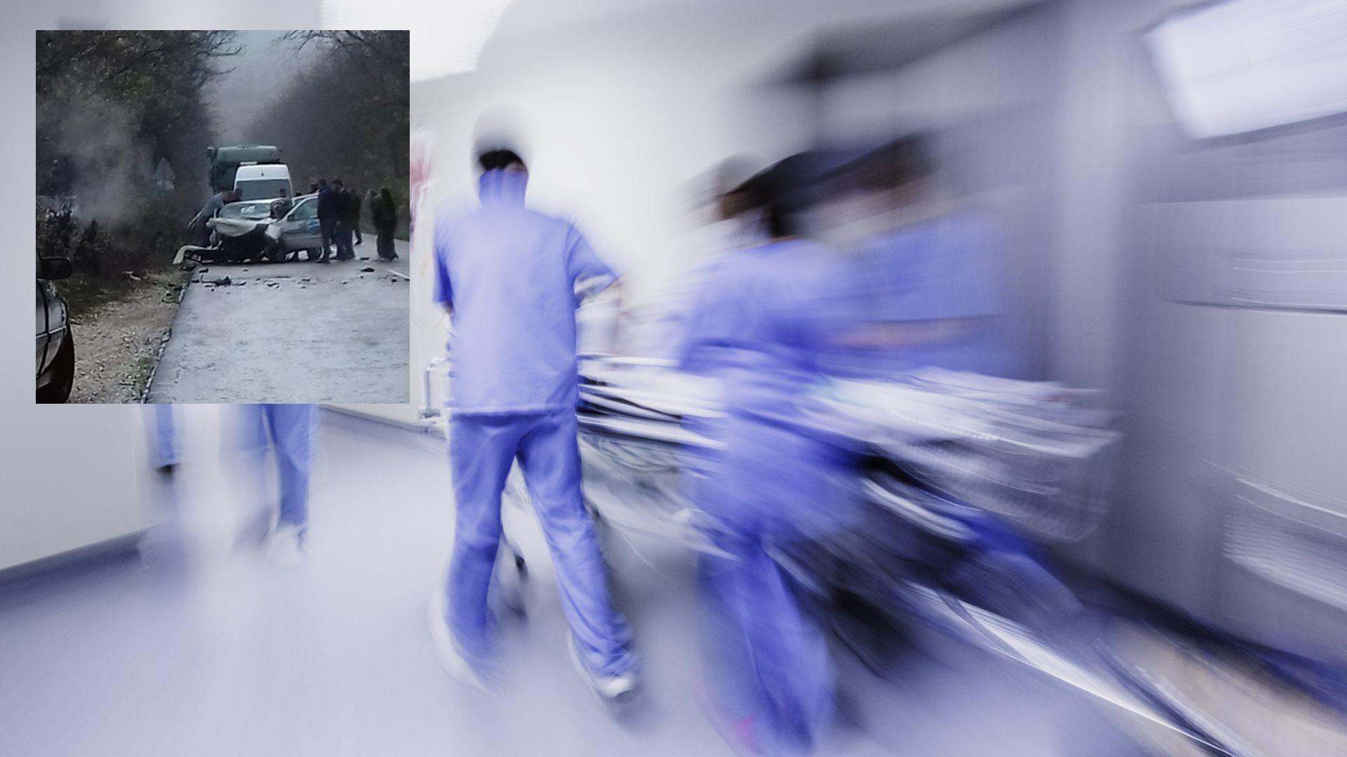 Три станаха жертвите на челния сблъсък край Силистра (снимки)