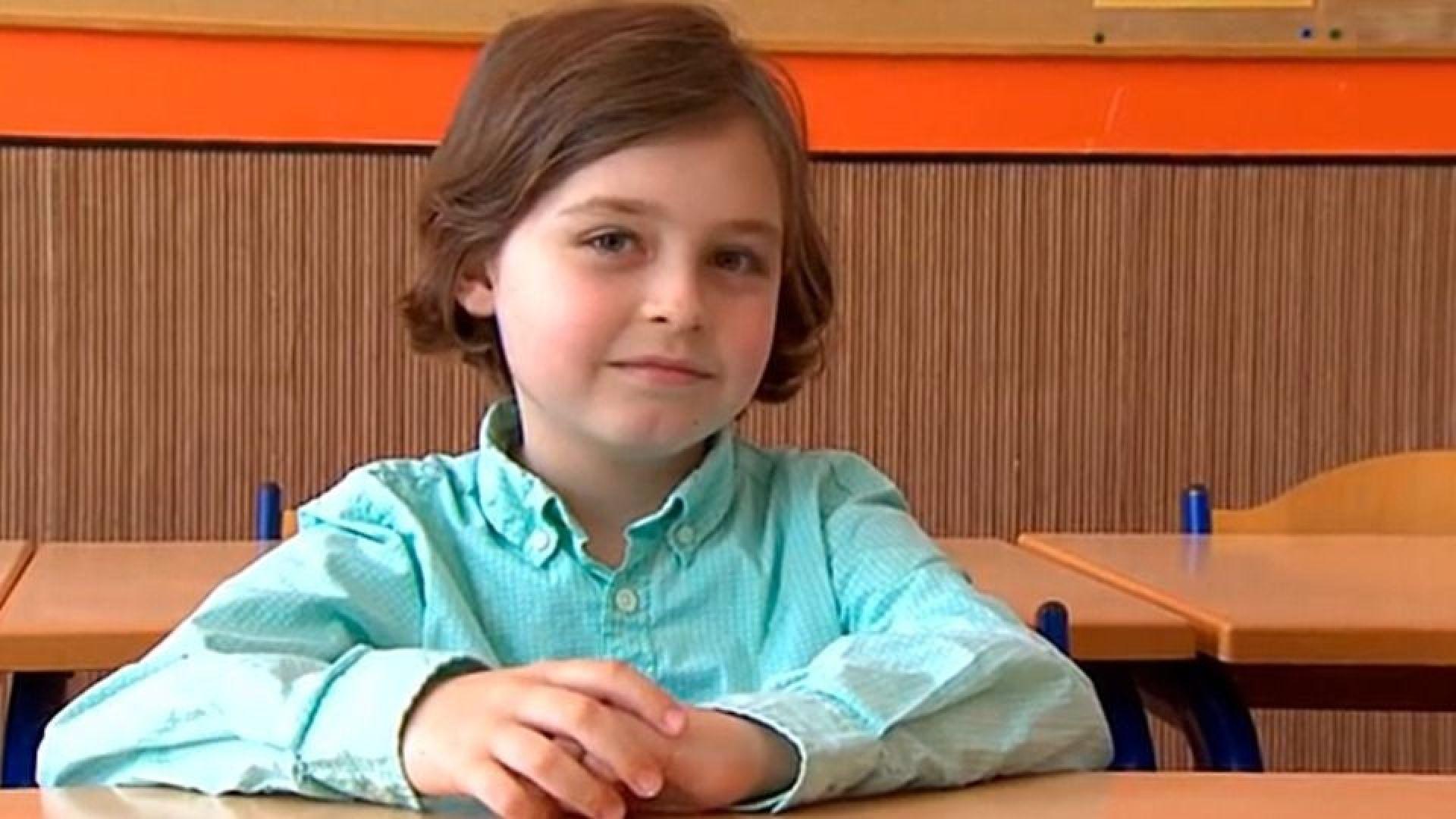 Белгийче на девет години е на път да стане най-младият