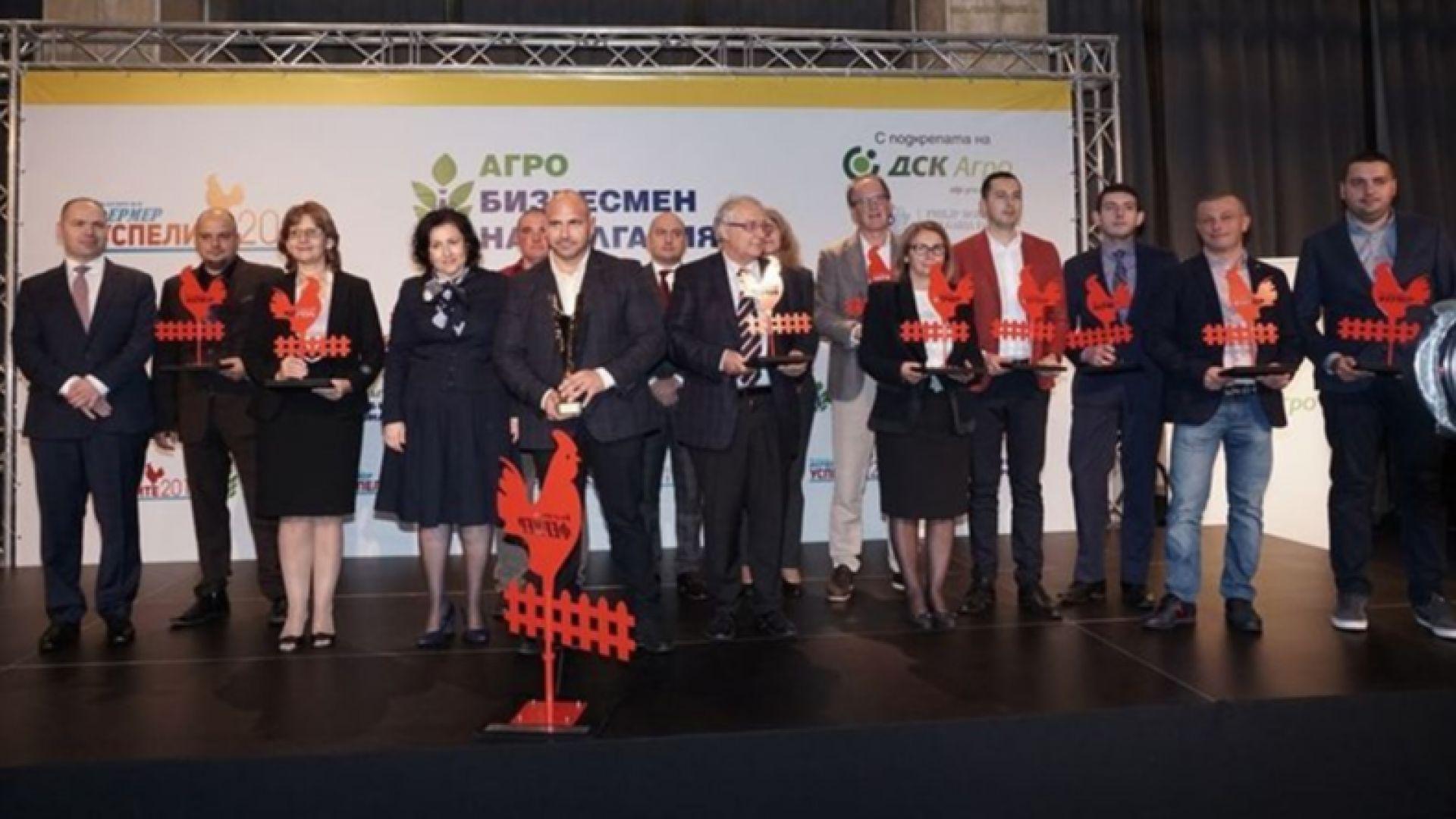 Избраха Станчо Станчев за Агробизнесмен номер 1 на България