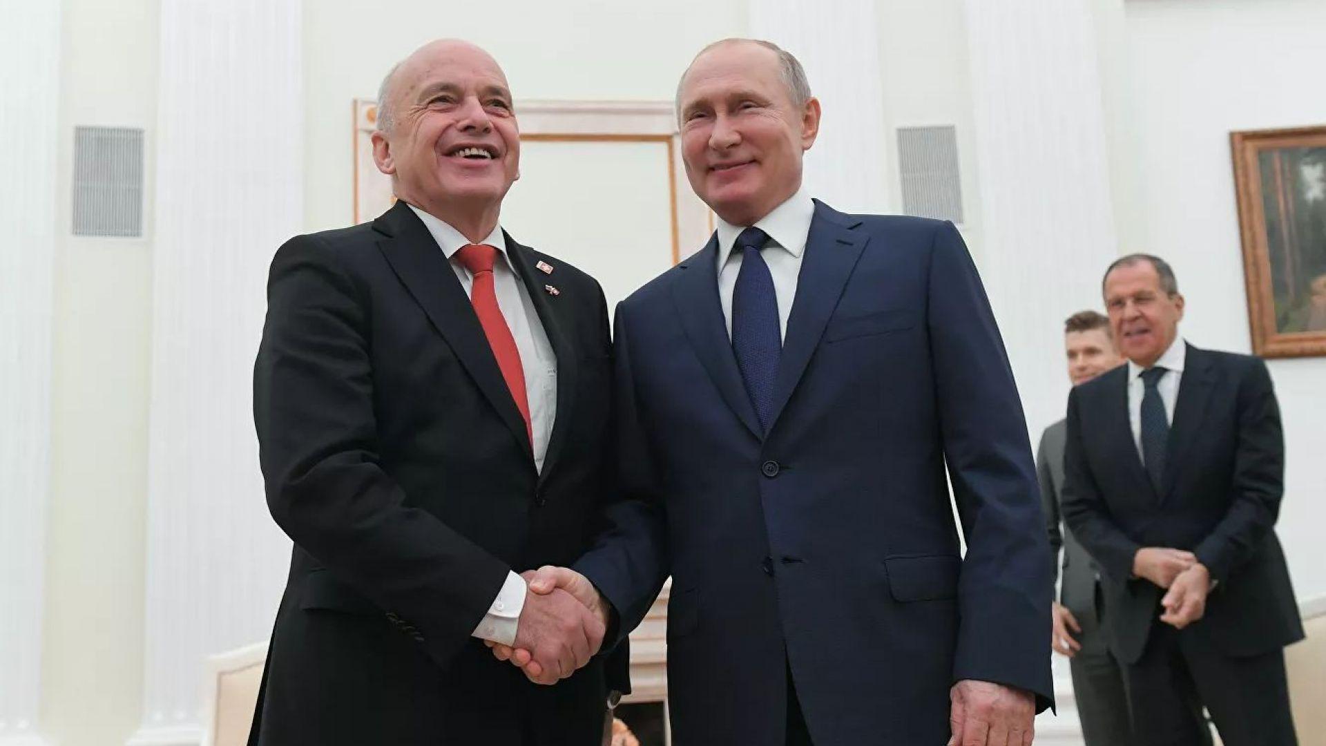 Отношенията между Русия и Швейцария имат дълга история, отбеляза днес