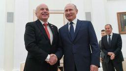 Швейцарският президент към Путин: Дължим много на Русия