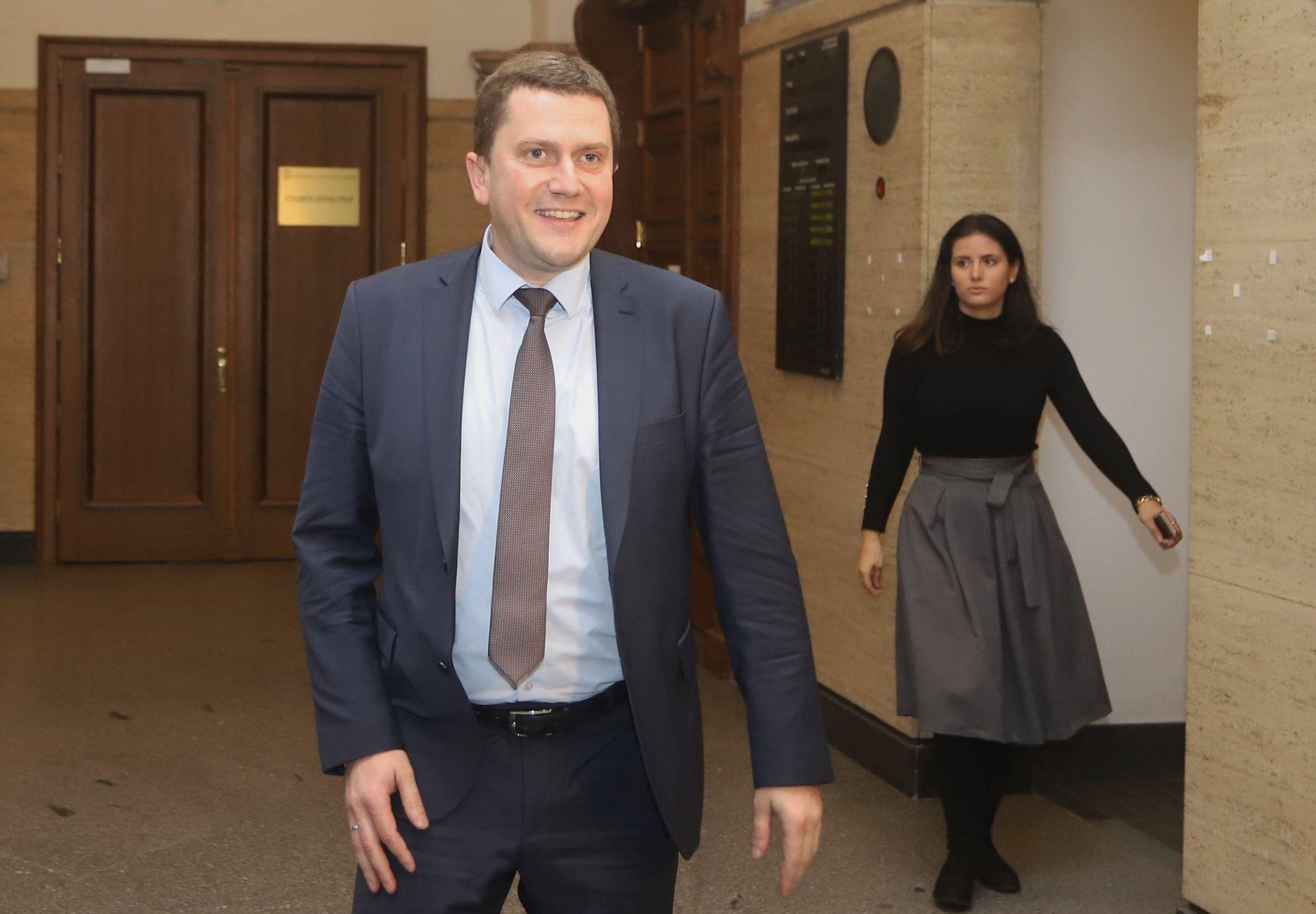 Кметът на Перник Станислав Владимиров се срещна с главния прокурор Сотир Цацаров