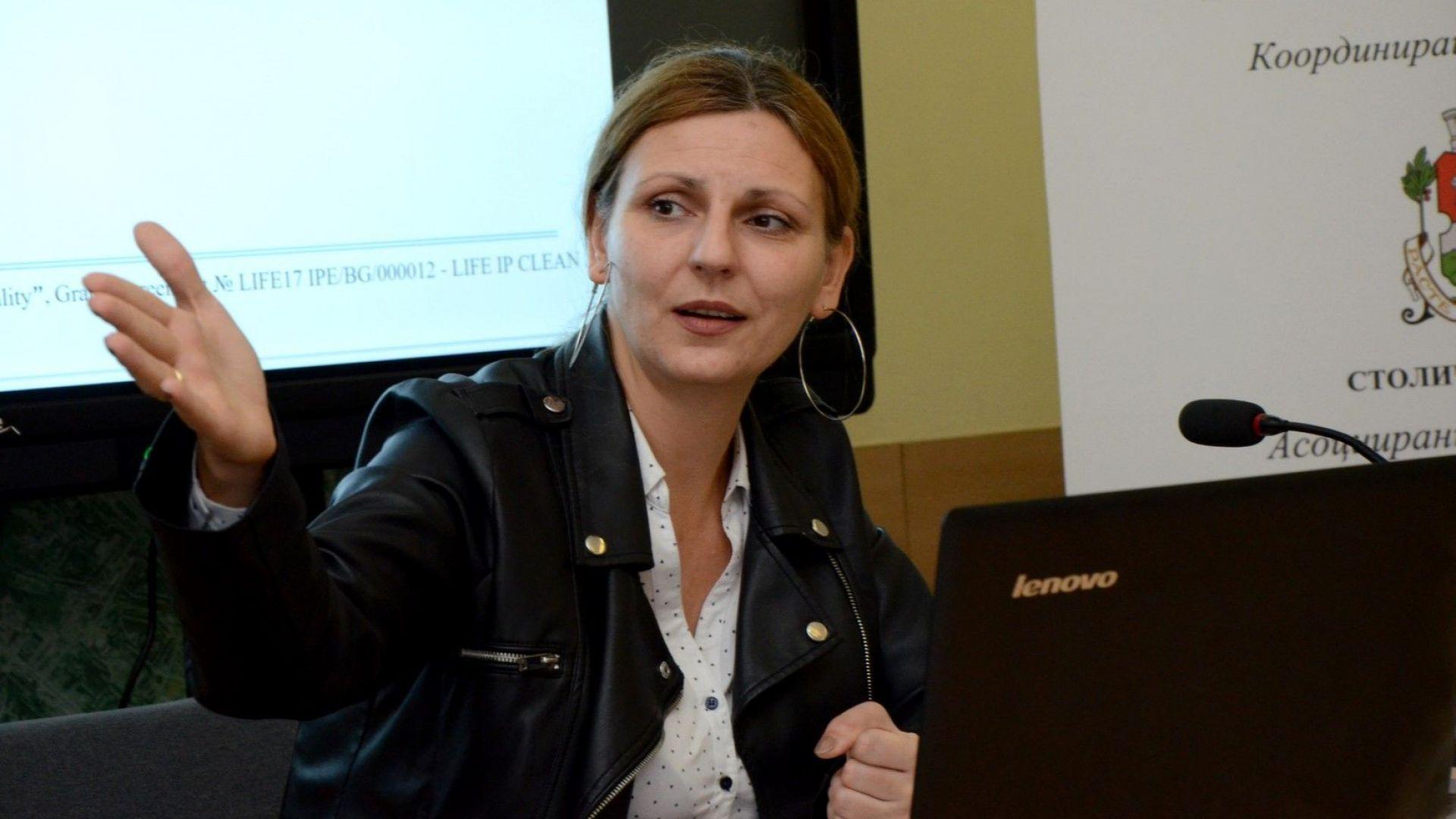 Зам.-кметът на София Йоана Христова представи в петък информация за