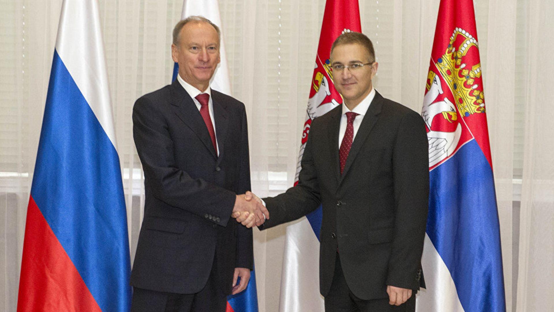 Русия и Сърбия се обединяват срещу тероризма