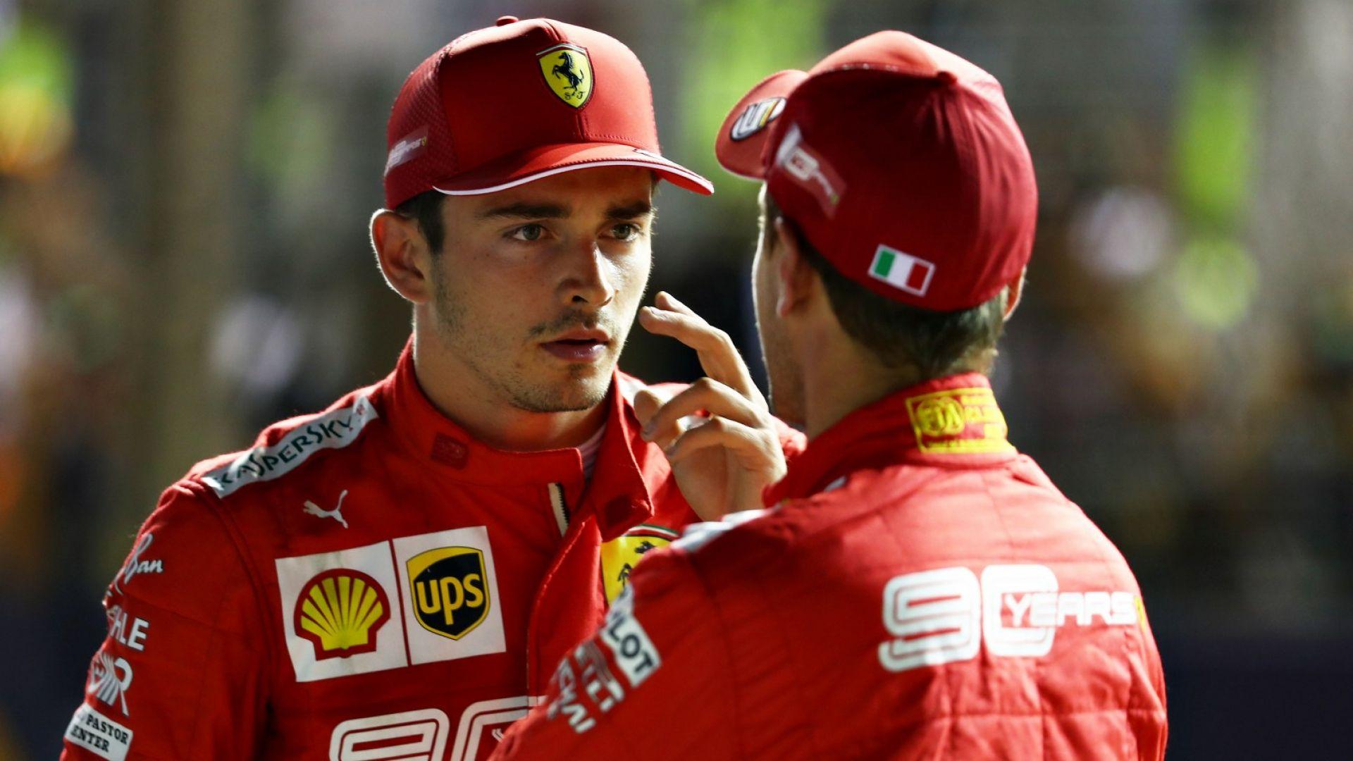 """Леклер: Никаква сума няма да ме накара да напусна """"Ферари"""""""