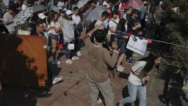 Рекордно висока активност  на изборите в Хонконг на фона на протести