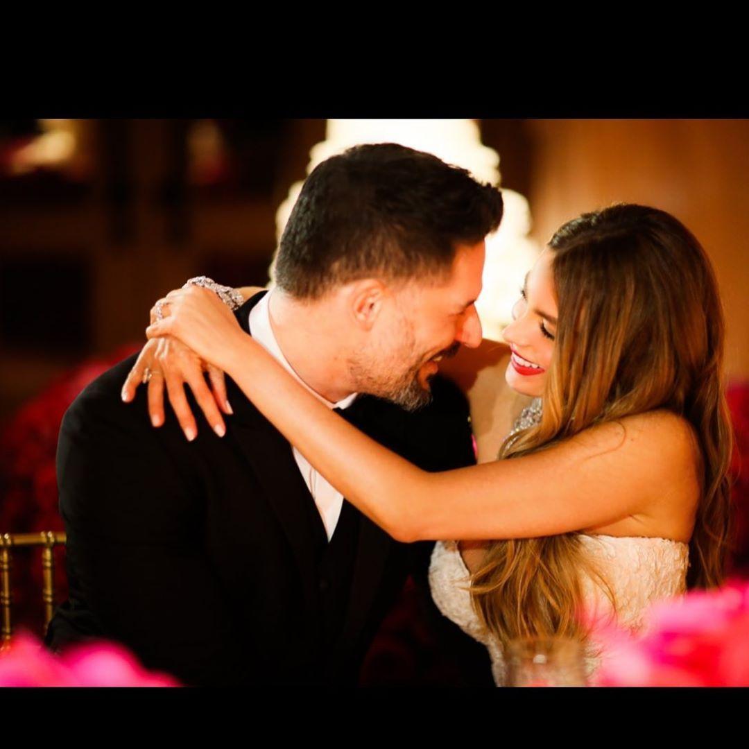 София Вергара със съпруга си Джо Манганиело