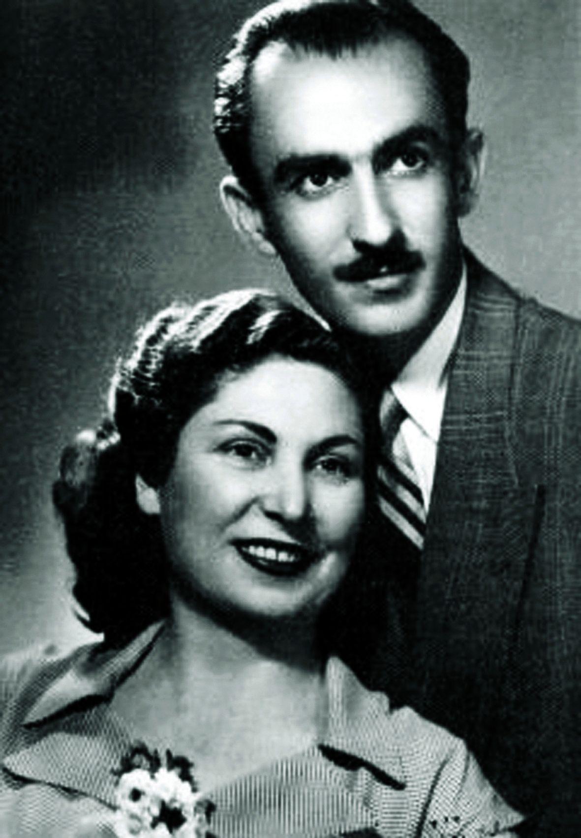 Гохар и Кеворк Вартанян, като млади / Източник: Личен архив на семейството, придобил публичност от документалния филм за живота им
