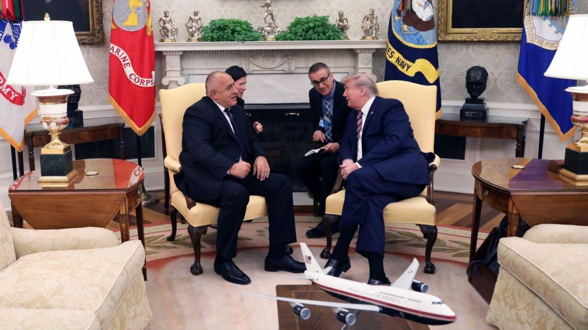 Как изтокът и западът отразиха срещата Борисов - Тръмп