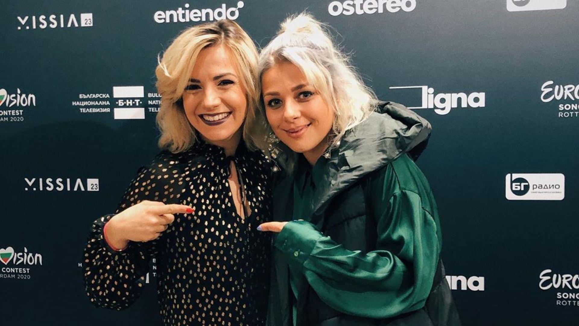 Поли Генова пожела успех на Виктория Георгиева за Евровизия