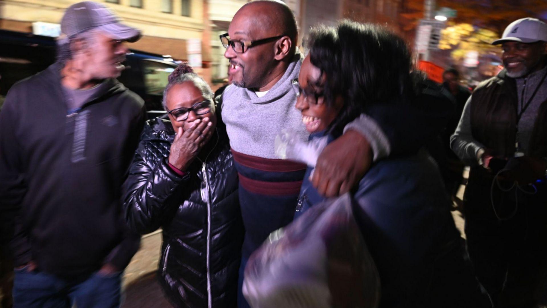 Освободиха след 36 г. в затвора 3-ма американци, оневинени за убийство