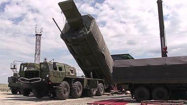 """Русия показа на САЩ ракетния комплекс """"Авангард"""""""