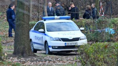 Убийство в Борисовата градина в София (снимки+видео)