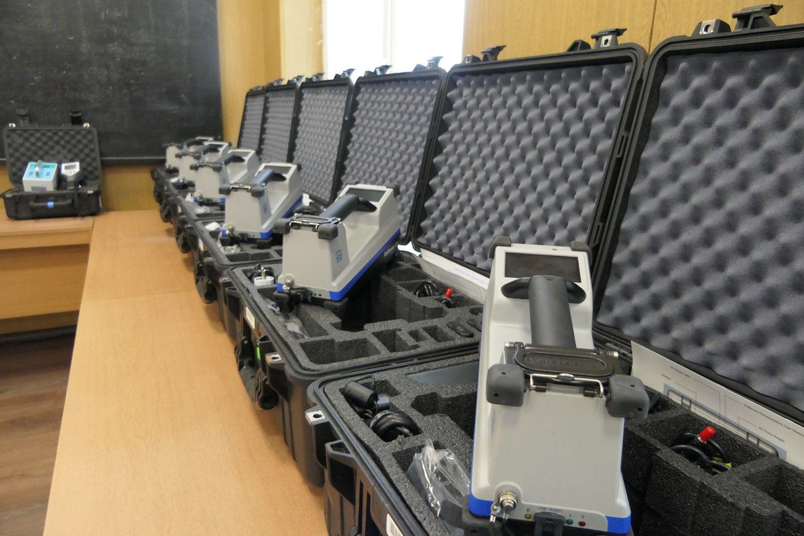 САЩ предоставиха на Гранична полиция шест уреда за откриване на радиоактивни изотопи