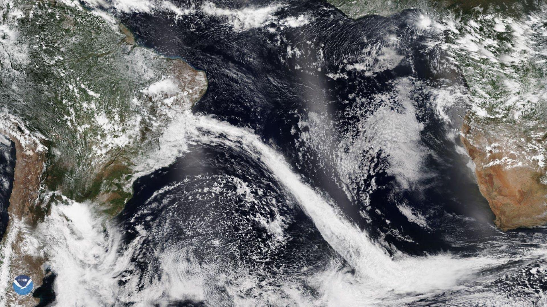 Бразилският Рио де Жанейро - атакуван от студен антарктически фронт