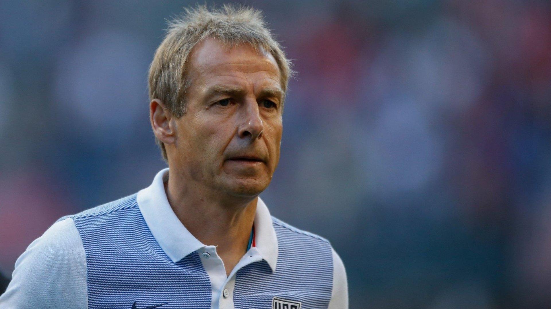 Юрген Клинсман води отбор в Бундеслигата без нужния лиценз