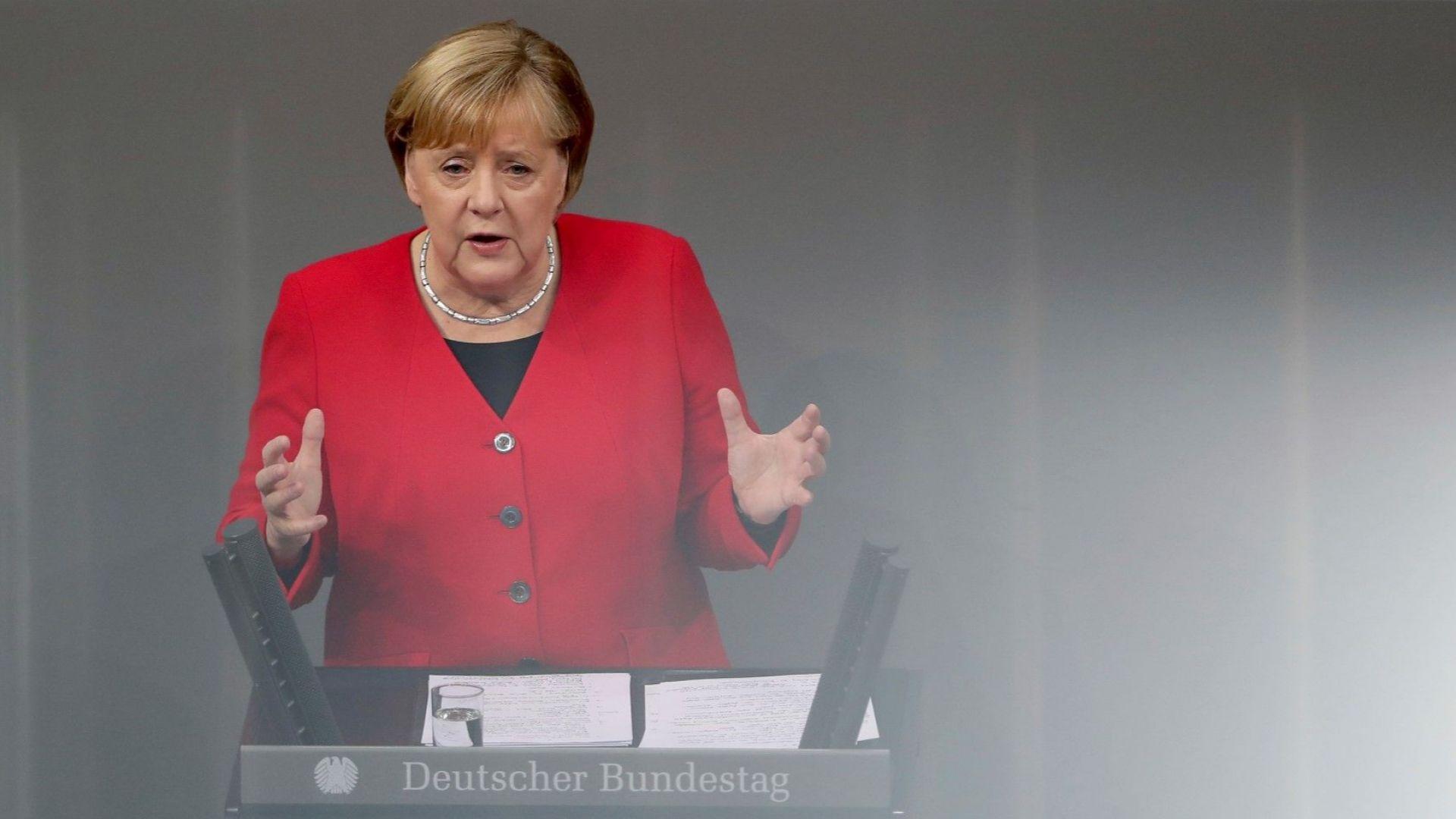 Германският канцлер Ангела Меркел призова днес страните членки на Европейския