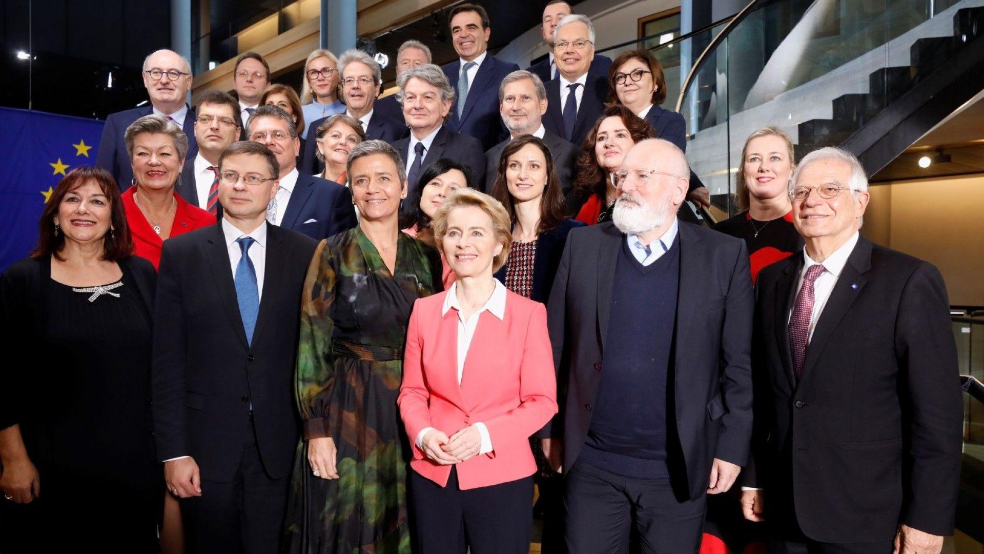Фон дер Лайен към новата Еврокомисия: Да се захващаме с работа!