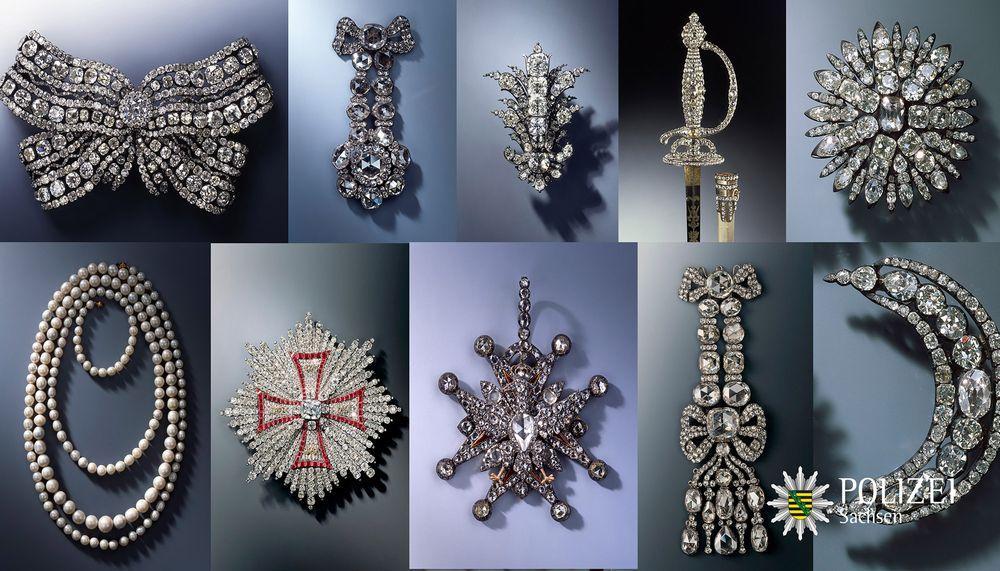 Откраднатите съкровища от музея в Дрезден