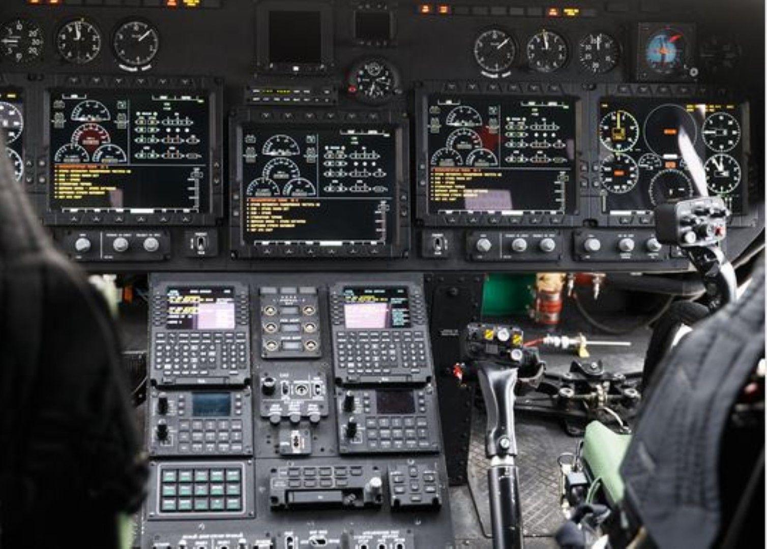 В кабината на модернизирания бомбардировач