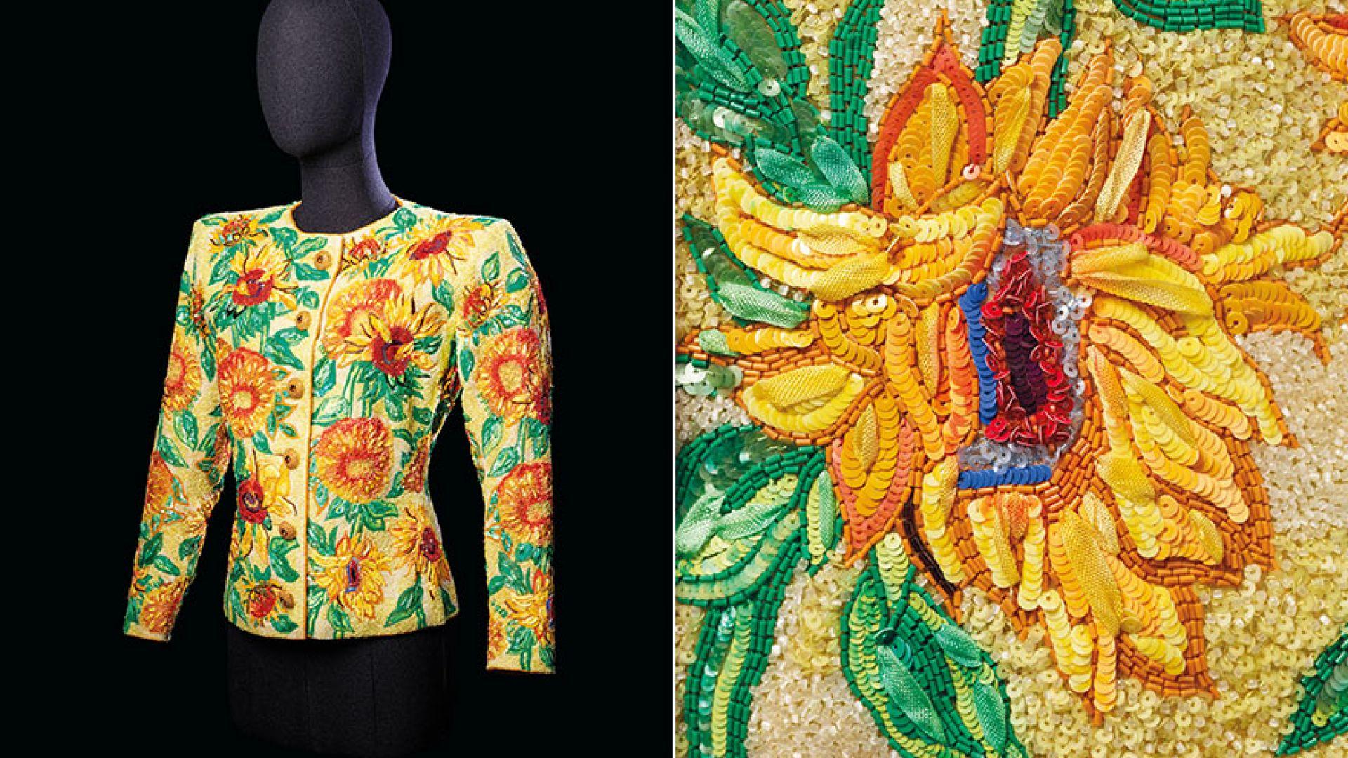 Сако на Ив Сен Лоран беше продадено на търг за рекордна сума