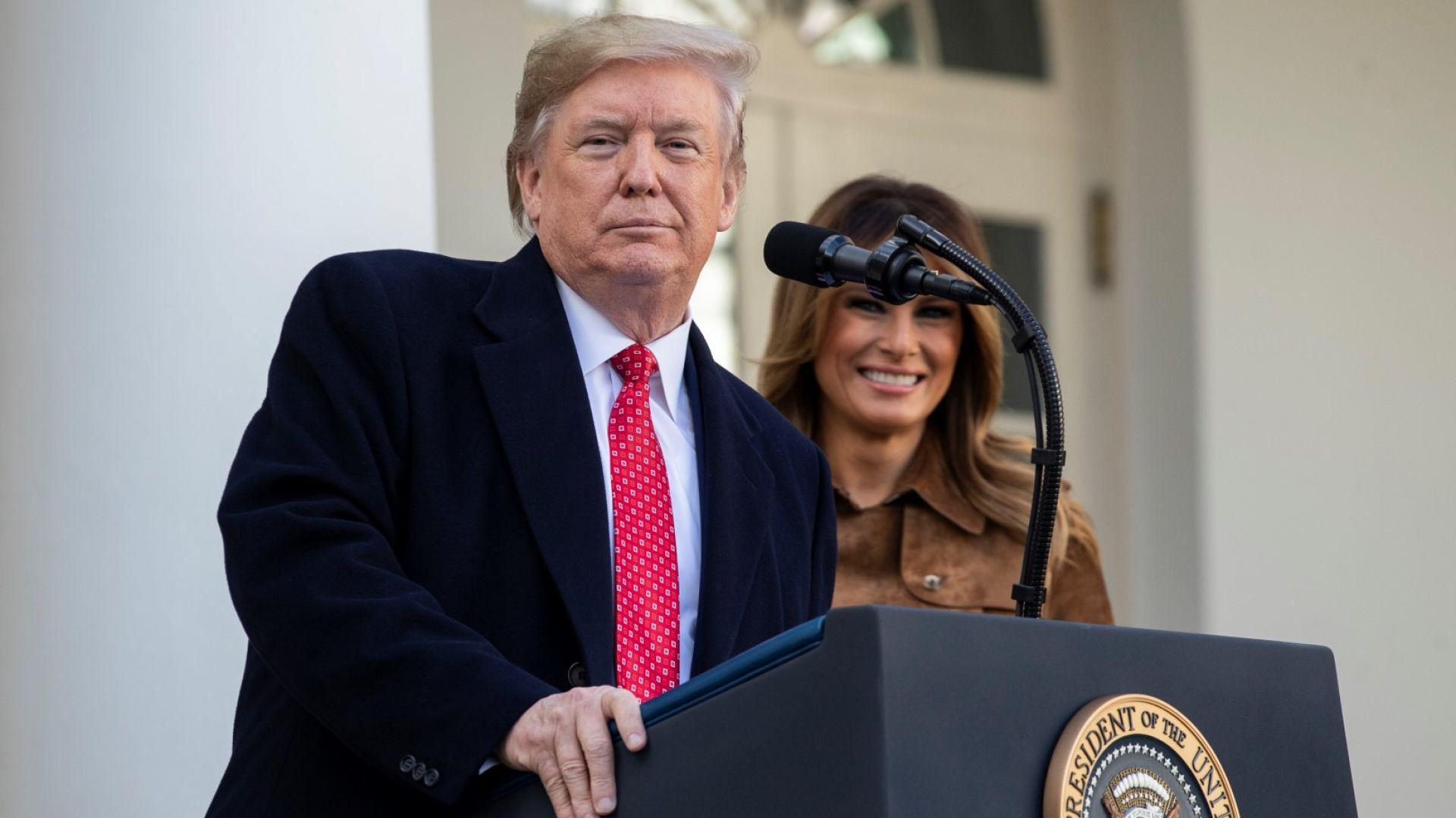 Тръмп отива в Давос, ще води дъщеря си и зет си
