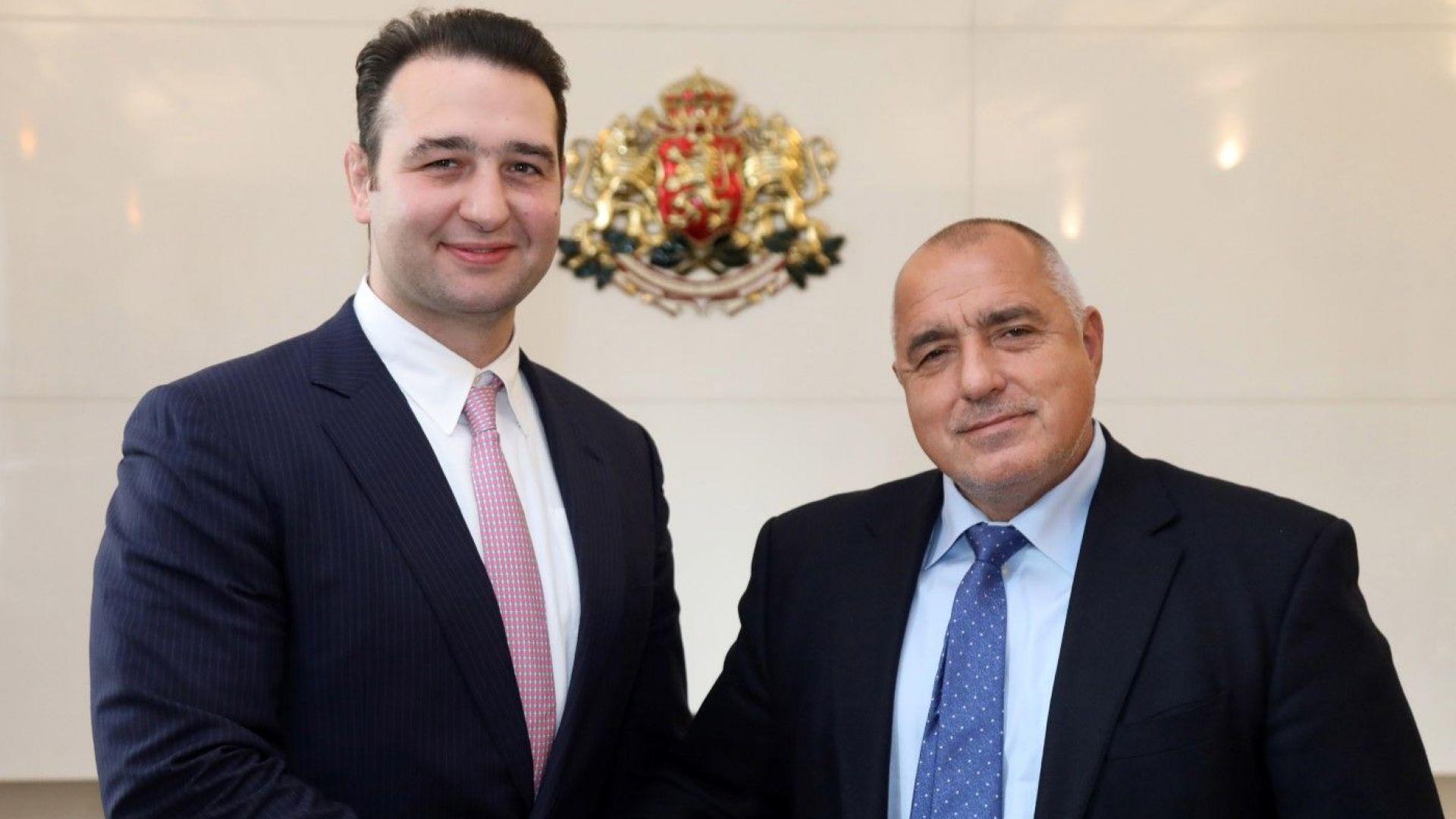 Котоошу се срещна с премиера Борисов