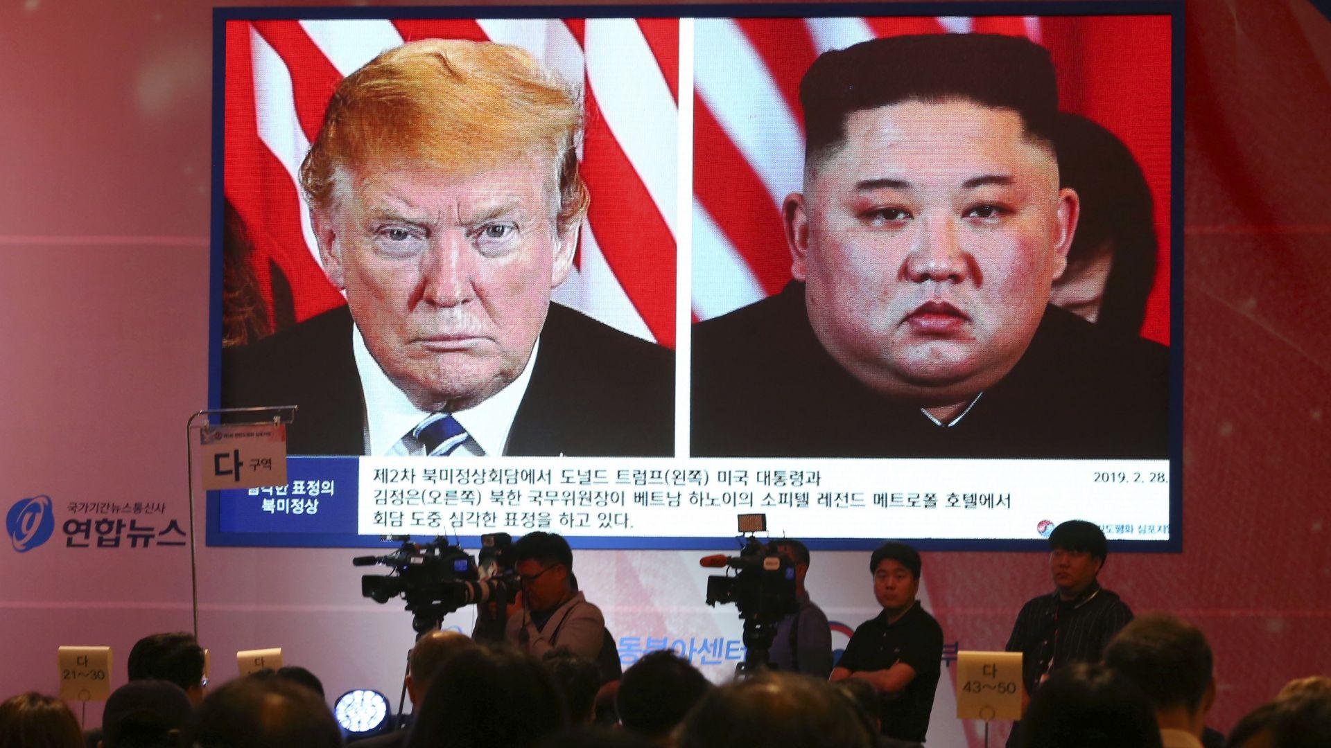 Пхенян изстреля две ракети в Деня на благодарността