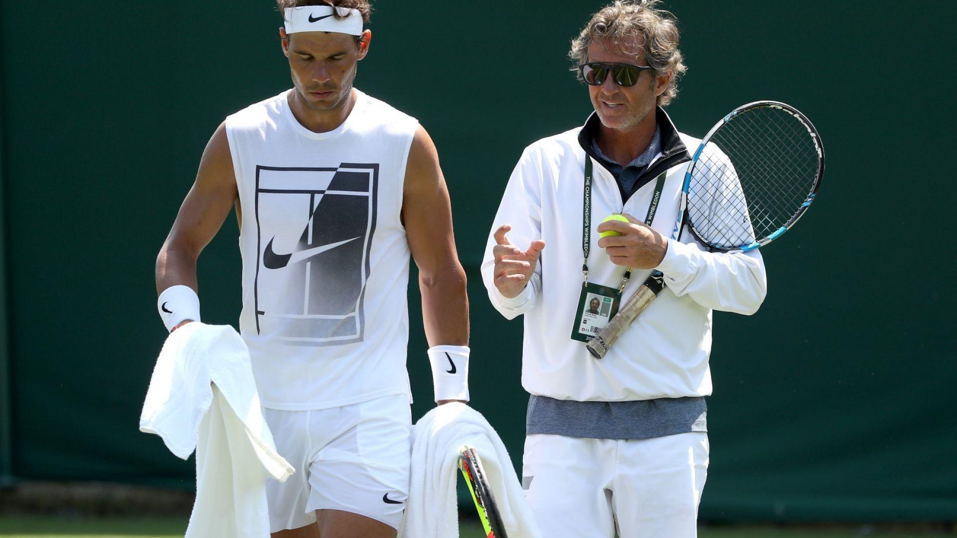 Треньор на Надал: Ако Рафа беше спрял, това щеше да стори и Федерер