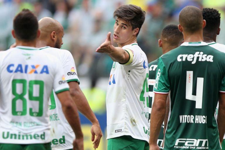 Фелипе Машадо в един от последните му мачове с отбора
