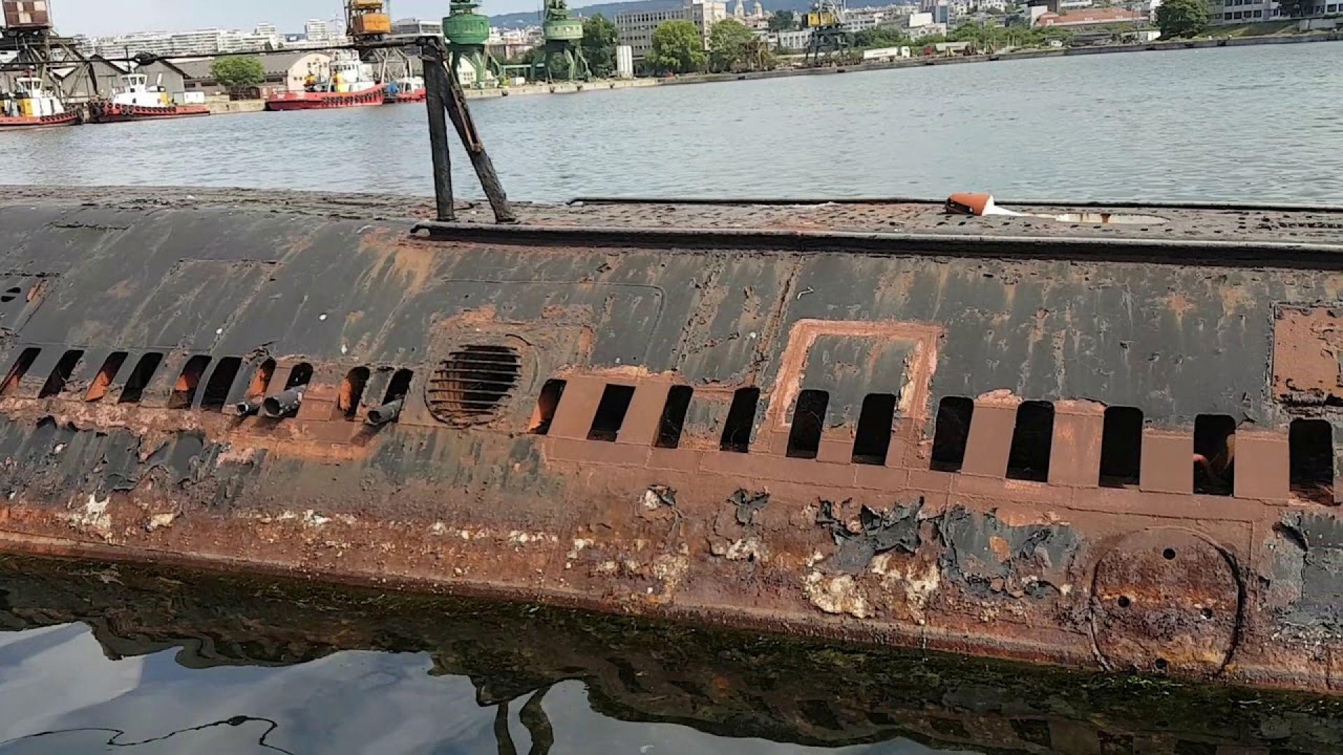 Последната българска подводница ще бъде превърната в музей
