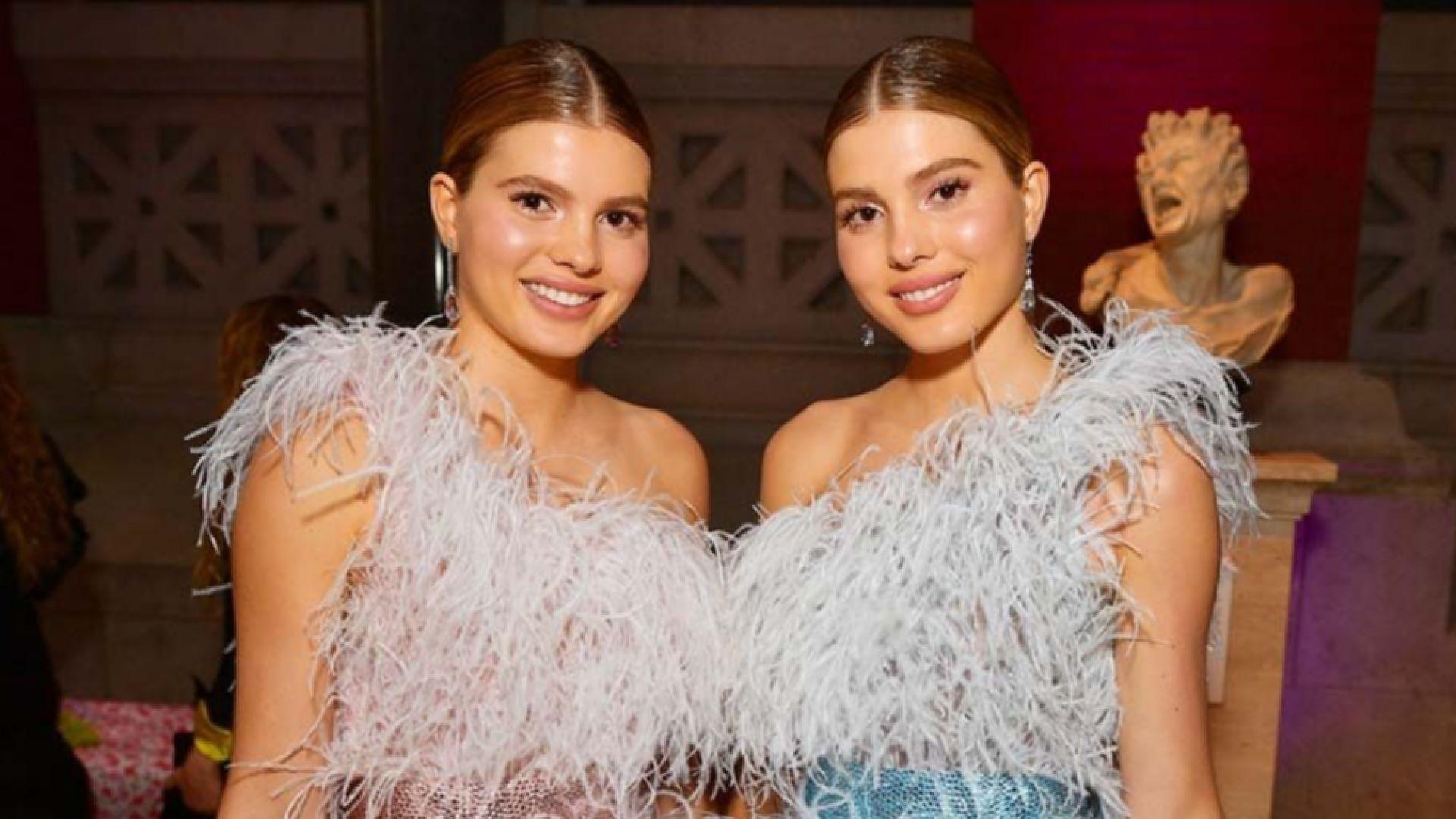 Красивите близначки на Хулио Иглесиас ще бъдат дами на графове
