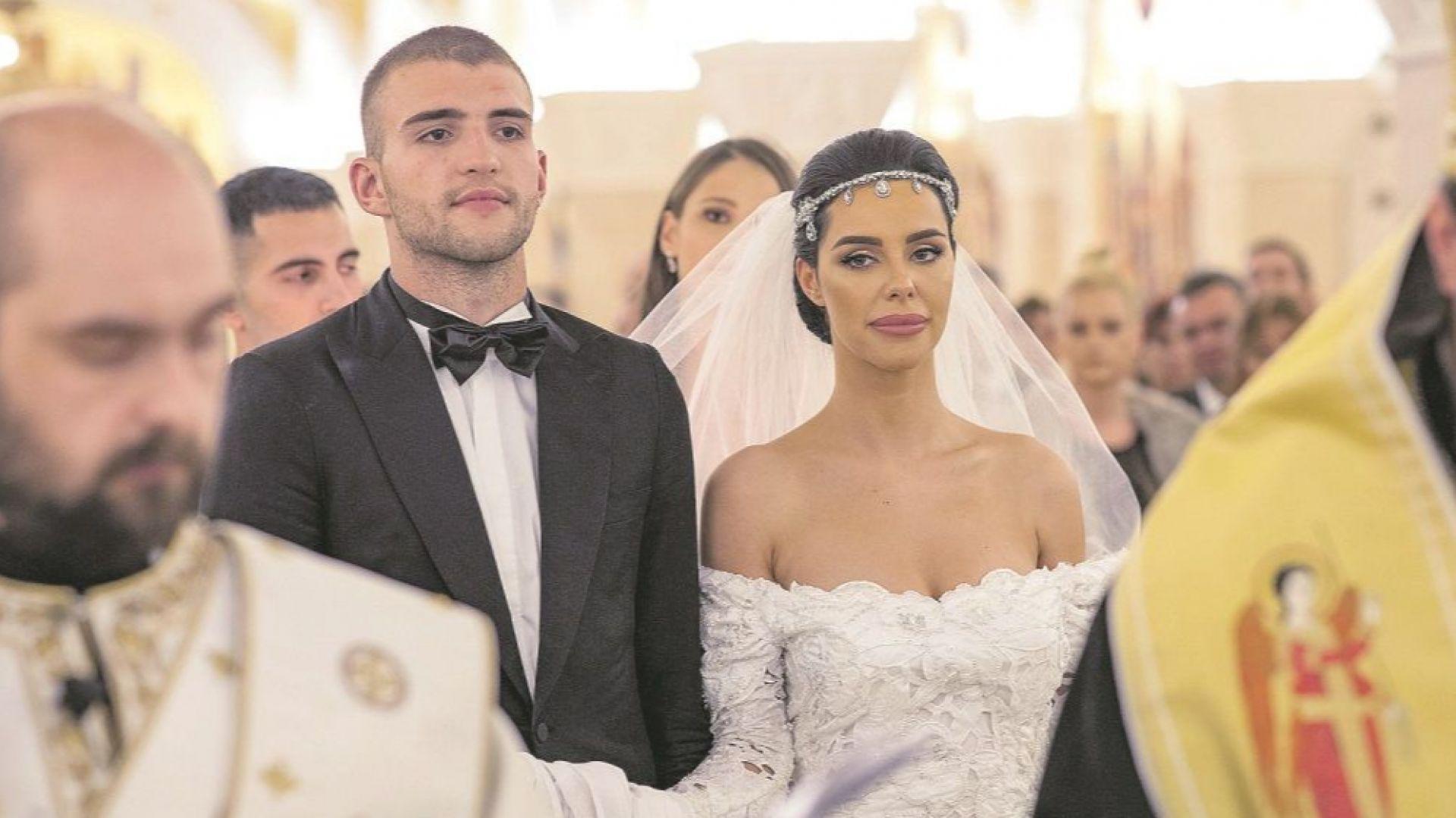 Синът на Цеца Величкович вдигна пищна сватба