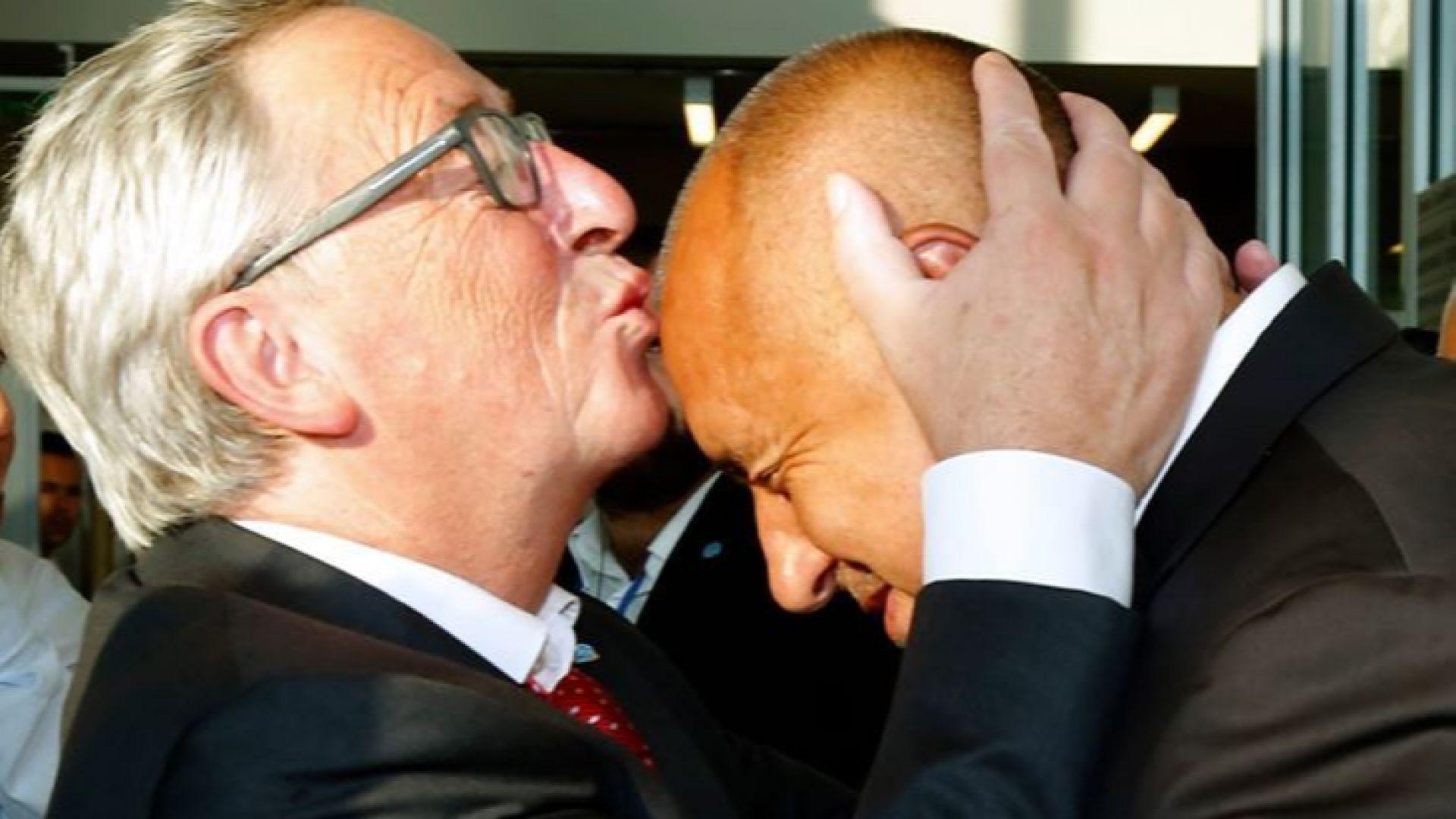Юнкер и Борисов си размениха любезности