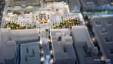 """Ето как ще изглежда площад """"Св. Неделя"""" (снимки)"""