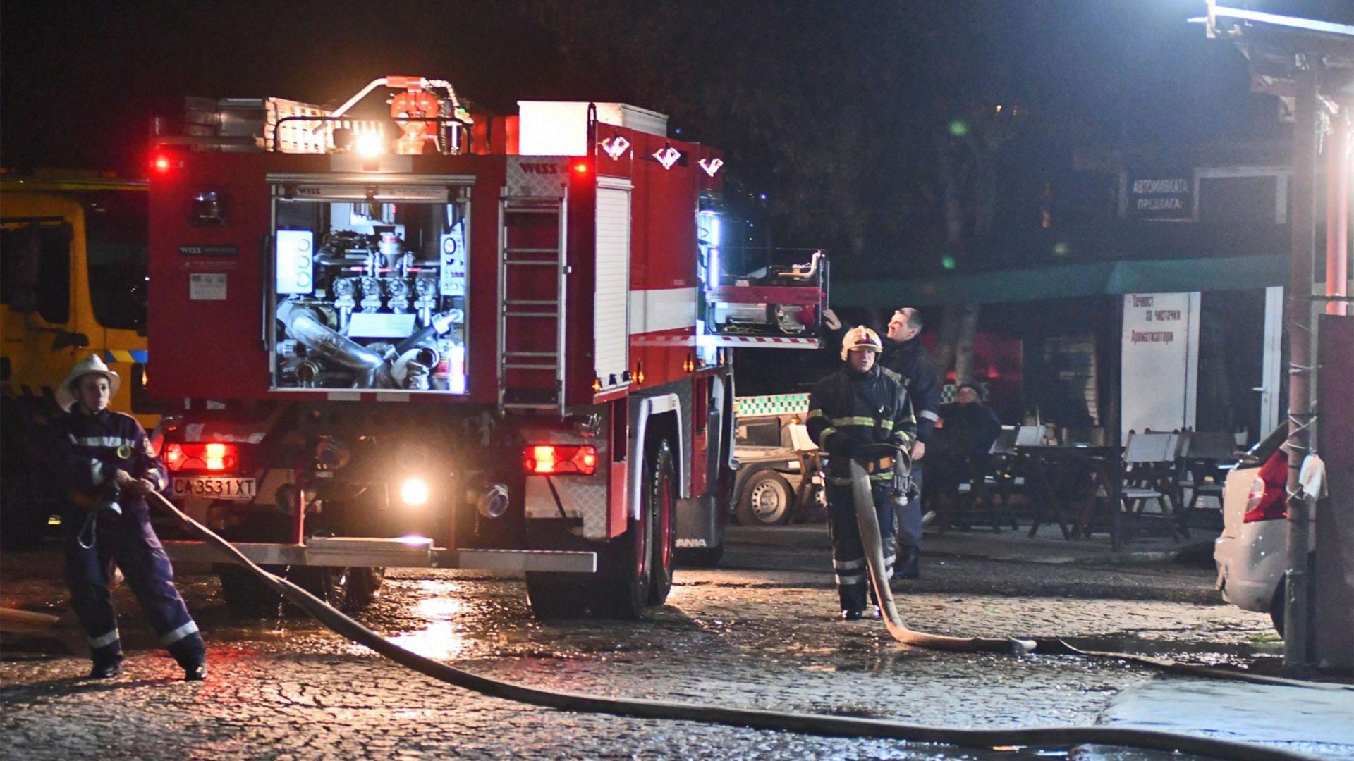 Пламна хотел в Пампорово, евакуираха 400 души