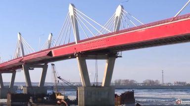 Първият мост между Русия и Китай е завършен (видео)