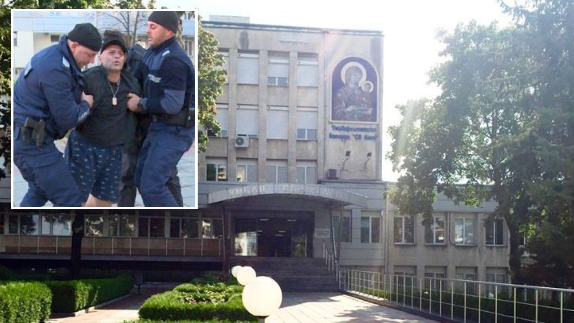 """Пациентът бил и душил лекари в """"Св. Анна"""" е бивш полицай"""