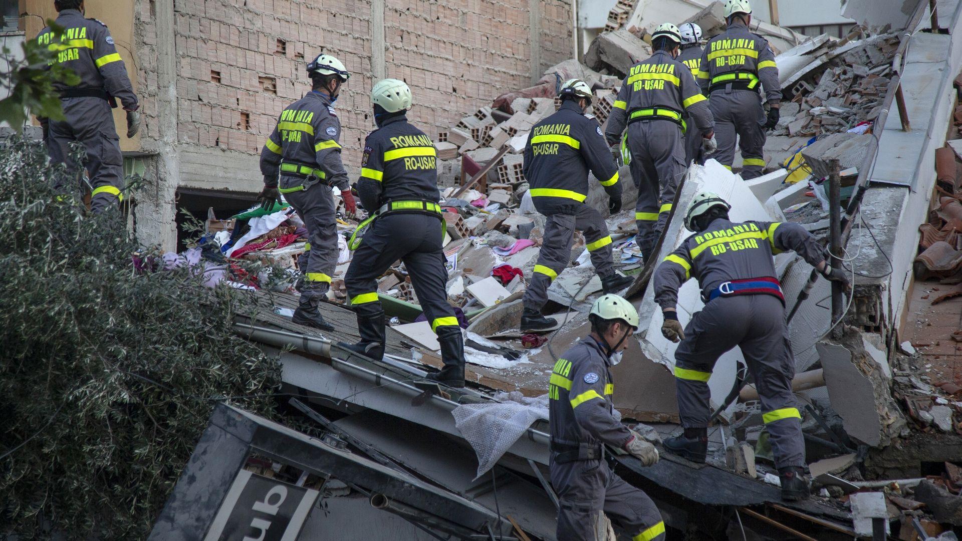 След 6,4 по Рихтер в Албания: 51 жерви, 2000 ранени, над 2300 рухнали сгради