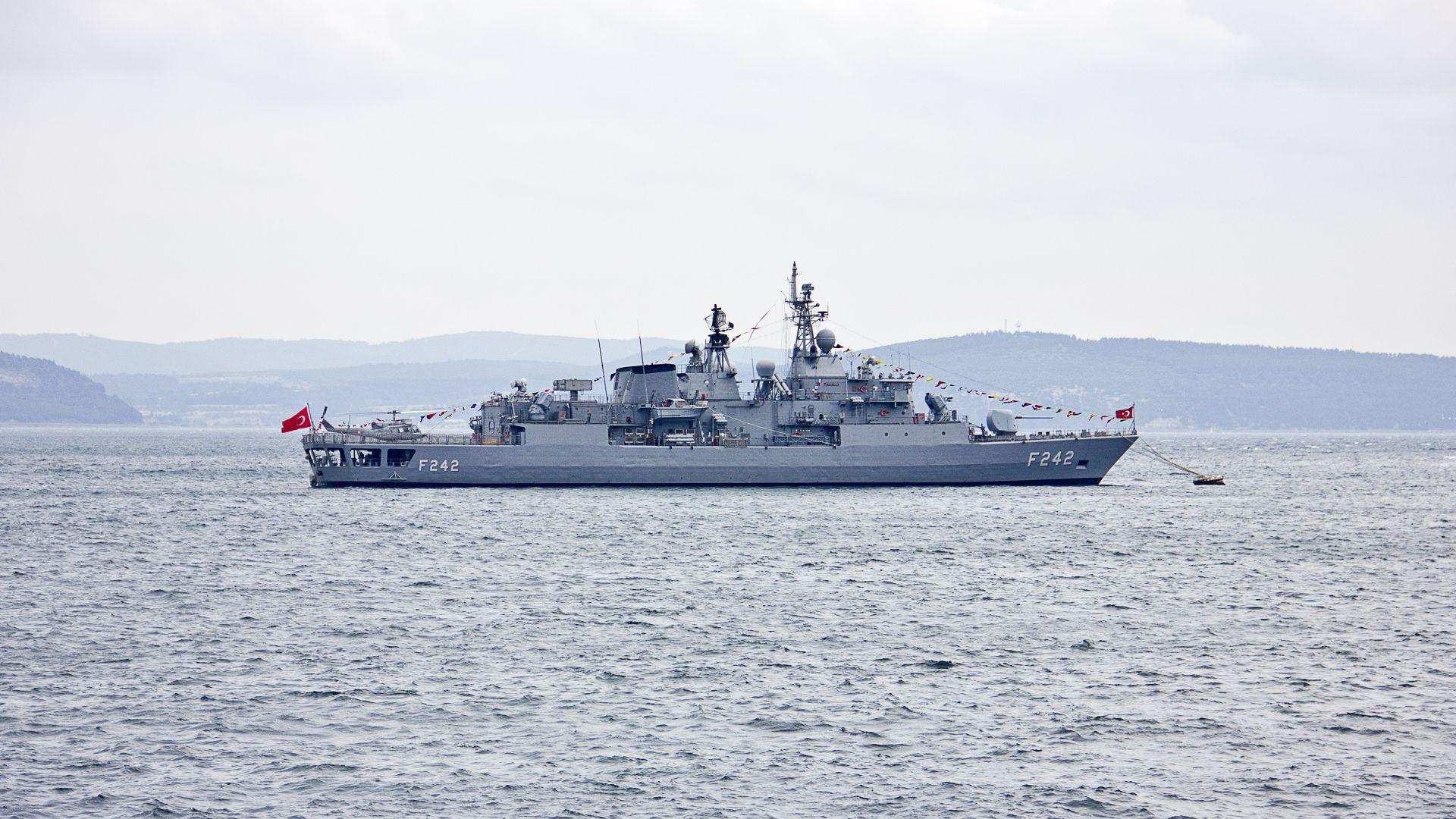 Турция започва военноморски маневри край гръцки острови