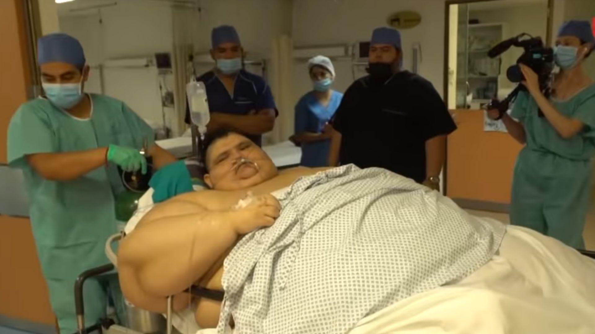 Бившият най-дебел човек в света отслабна с 330 кг (видео)