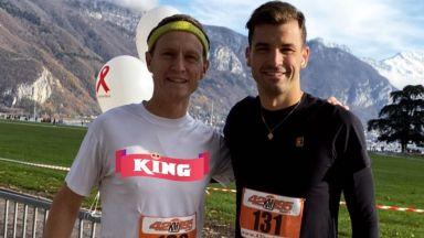Григор Димитров бяга на 10-километров маратон за добра кауза