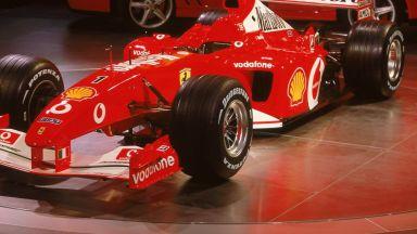 Шампионски болид на Шумахер беше продаден за $5,9 милиона