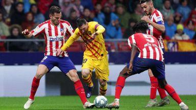 Меси избухна в мадридско шоу и порази Атлетико с късен удар