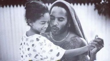 Лени Кравиц с трогателна снимка за рождения ден на дъщеря си