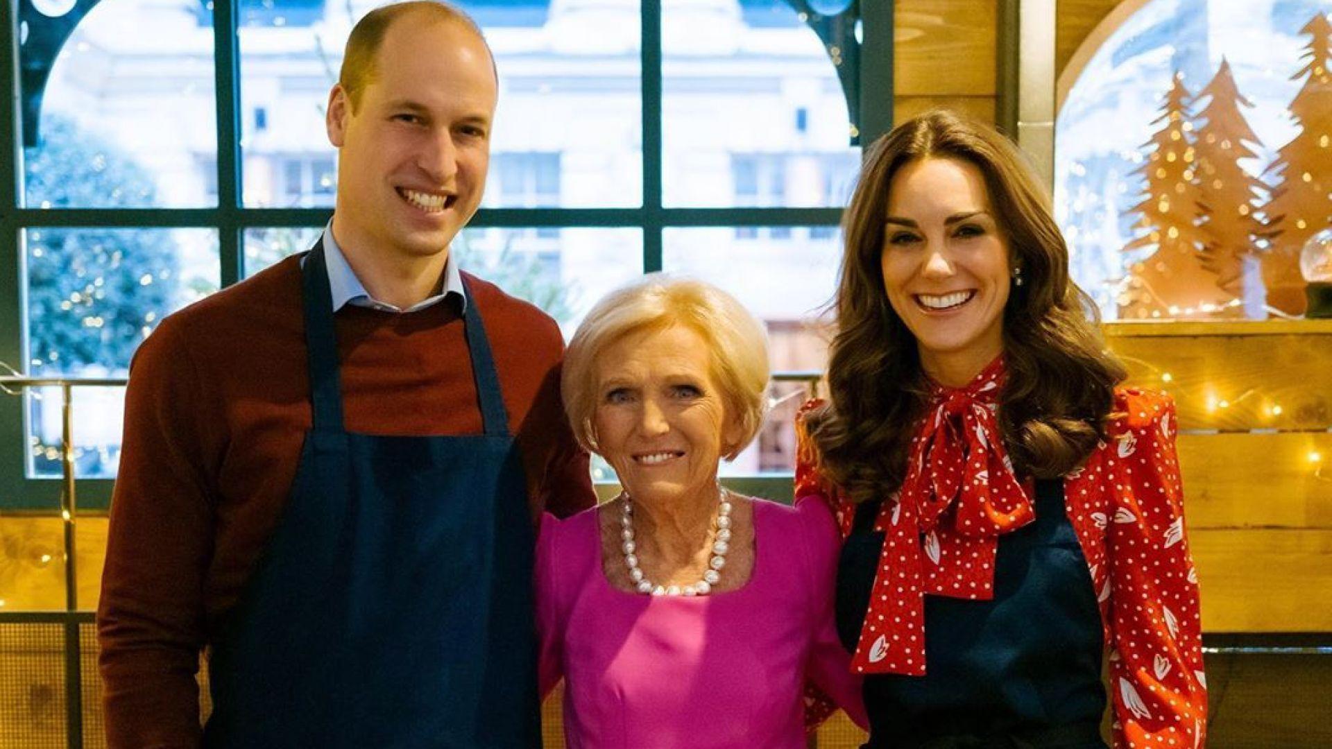 Доброто коледно дело на Кейт Мидълтън и принц Уилям