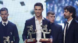 Роналдо отиде на друга церемония, там имаше призове за него