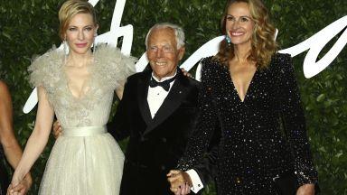 Кейт Бланшет и Джулия Робъртс изумителни на червения килим с Джорджо Армани